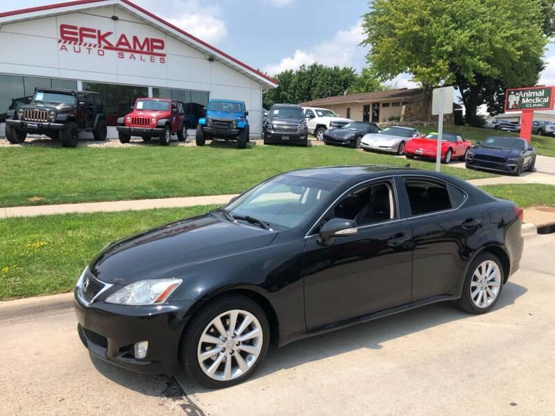 2010 Lexus IS 250 for sale at Efkamp Auto Sales LLC in Des Moines IA