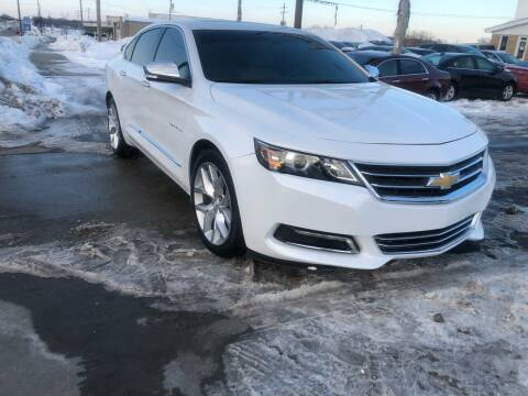 2018 Chevrolet Impala for sale at Wyss Auto in Oak Creek WI