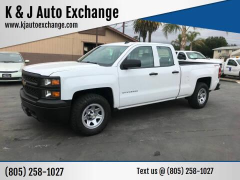 2014 Chevrolet Silverado 1500 for sale at K & J Auto Exchange in Santa Paula CA