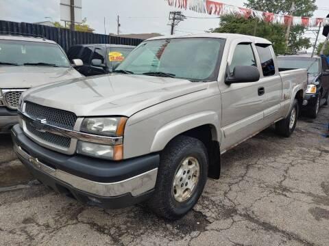 2004 Chevrolet Silverado 1500 for sale at JIREH AUTO SALES in Chicago IL