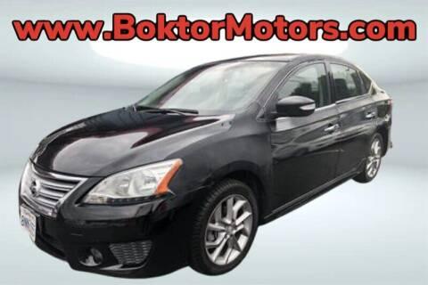 2015 Nissan Sentra for sale at Boktor Motors in North Hollywood CA