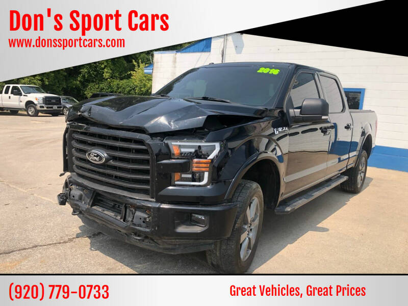 2016 Ford F-150 for sale at Don's Sport Cars in Hortonville WI