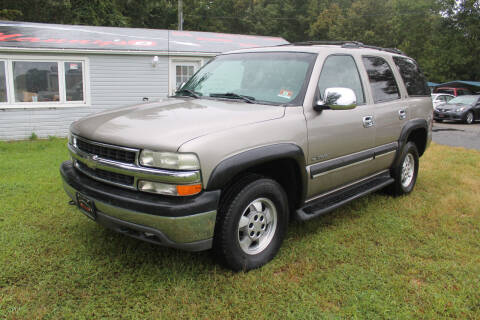 2002 Chevrolet Tahoe for sale at Manny's Auto Sales in Winslow NJ