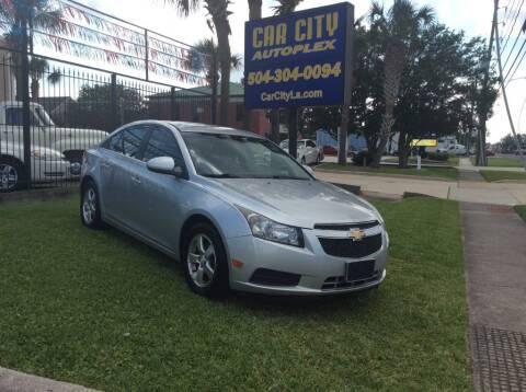 2013 Chevrolet Cruze for sale at Car City Autoplex in Metairie LA