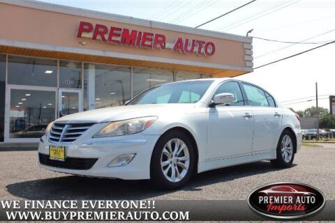 2012 Hyundai Genesis for sale at PREMIER AUTO IMPORTS - Temple Hills Location in Temple Hills MD