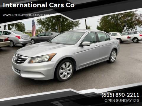 2008 Honda Accord for sale at International Cars Co in Murfreesboro TN