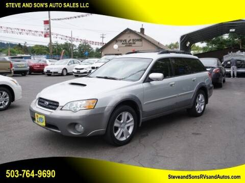 2006 Subaru Outback for sale at Steve & Sons Auto Sales in Happy Valley OR