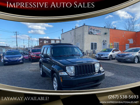 2010 Jeep Liberty for sale at Impressive Auto Sales in Philadelphia PA