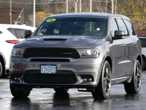 2018 Dodge Durango for sale at CLINT NEWELL USED CARS in Roseburg OR