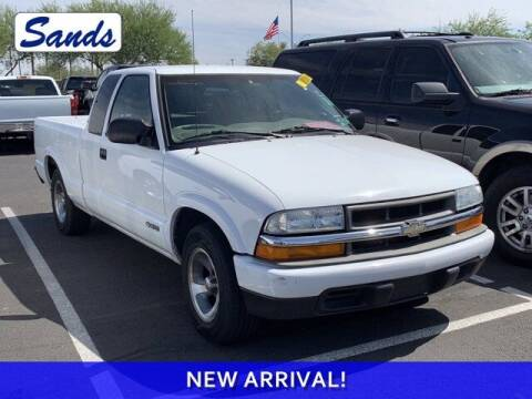 2003 Chevrolet S-10 for sale at Sands Chevrolet in Surprise AZ