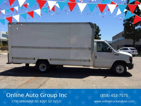 2015 Ford E-Series Chassis for sale at Online Auto Group Inc in San Diego CA