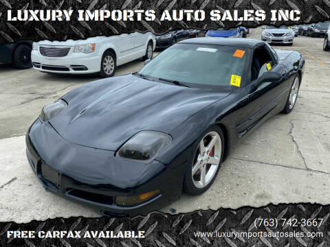 1998 Chevrolet Corvette for sale at LUXURY IMPORTS AUTO SALES INC in North Branch MN
