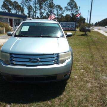 2008 Ford Taurus X for sale at MOTOR VEHICLE MARKETING INC in Hollister FL