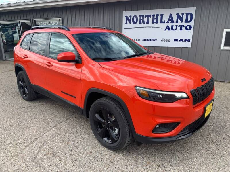 2021 Jeep Cherokee for sale at Northland Auto in Humboldt IA