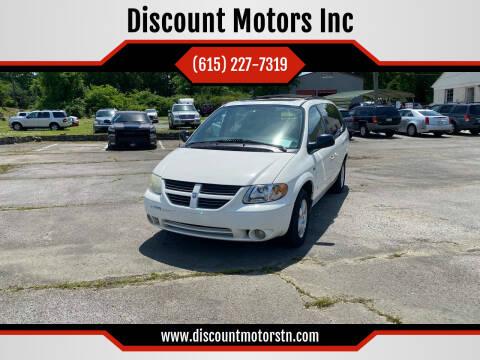 2006 Dodge Grand Caravan for sale at Discount Motors Inc in Nashville TN