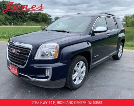 2016 GMC Terrain for sale at Jones Chevrolet Buick Cadillac in Richland Center WI