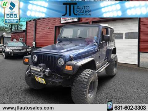2006 Jeep Wrangler for sale at JTL Auto Inc in Selden NY