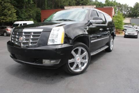 2014 Cadillac Escalade ESV for sale at Atlanta Unique Auto Sales in Norcross GA