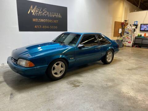 1993 Ford Mustang for sale at Mel's Motors in Nixa MO