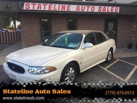 2003 Buick LeSabre for sale at Stateline Auto Sales in South Beloit IL