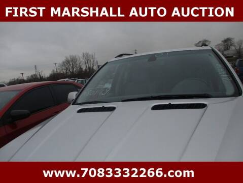 2001 BMW X5 for sale at First Marshall Auto Auction in Harvey IL