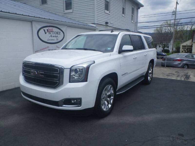 2015 GMC Yukon XL for sale at VICTORY AUTO in Lewistown PA