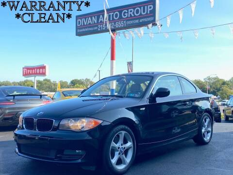 2011 BMW 1 Series for sale at Divan Auto Group in Feasterville PA