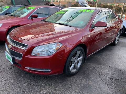 2008 Chevrolet Malibu for sale at Barnes Auto Group in Chicago IL