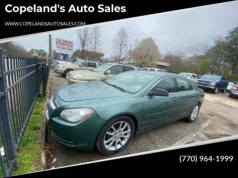 2009 Chevrolet Malibu for sale at Copeland's Auto Sales in Union City GA