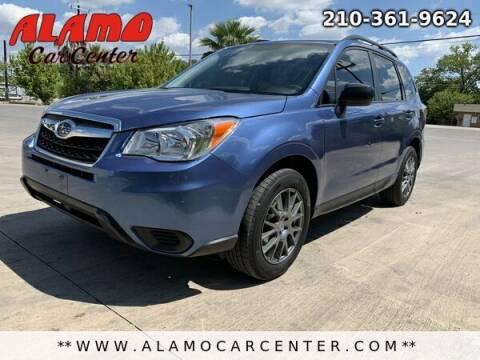 2016 Subaru Forester for sale at Alamo Car Center in San Antonio TX