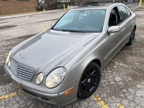 2003 Mercedes-Benz E-Class for sale at Supreme Auto Gallery LLC in Kansas City MO