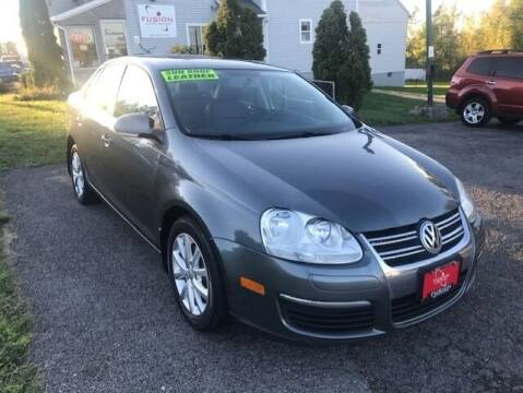 2010 Volkswagen Jetta for sale at FUSION AUTO SALES in Spencerport NY