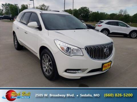 2013 Buick Enclave for sale at RICK BALL FORD in Sedalia MO