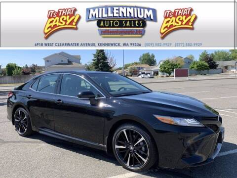 2018 Toyota Camry for sale at Millennium Auto Sales in Kennewick WA