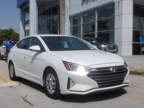 2019 Hyundai Elantra for sale at DORAL HYUNDAI in Doral FL