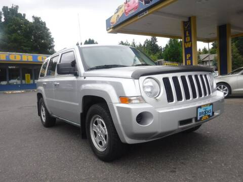 2010 Jeep Patriot for sale at Brooks Motor Company, Inc in Milwaukie OR