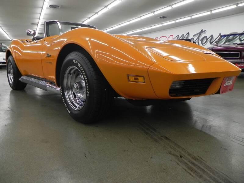1973 Chevrolet Corvette for sale at 121 Motorsports in Mount Zion IL