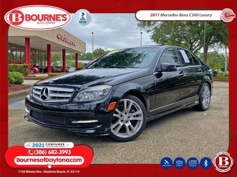 2011 Mercedes-Benz C-Class for sale at Bourne's Auto Center in Daytona Beach FL