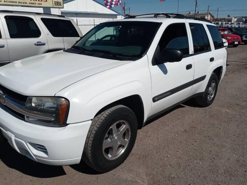 2004 Chevrolet TrailBlazer for sale at ACE AUTO SALES in Lake Havasu City AZ