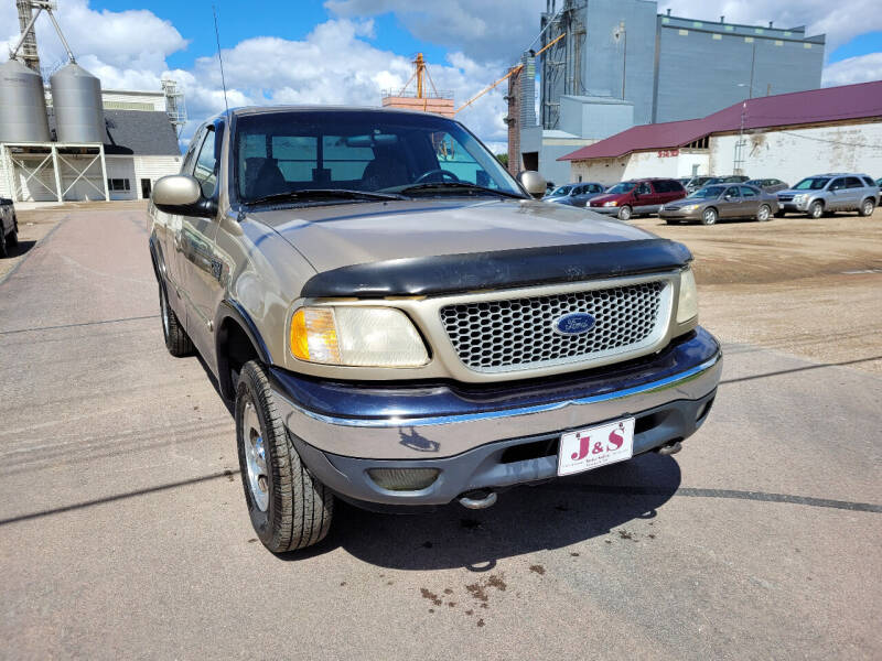 1999 Ford F-150 for sale at J & S Auto Sales in Thompson ND