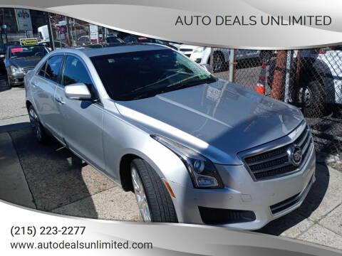 2014 Cadillac ATS for sale at AUTO DEALS UNLIMITED in Philadelphia PA