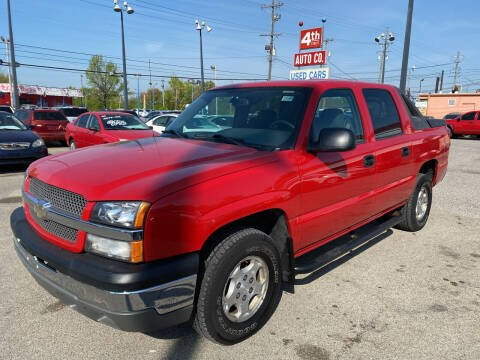 2004 Chevrolet Avalanche for sale at 4th Street Auto in Louisville KY