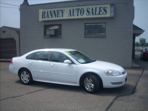 2012 Chevrolet Impala for sale at Ranney's Auto Sales in Eau Claire WI