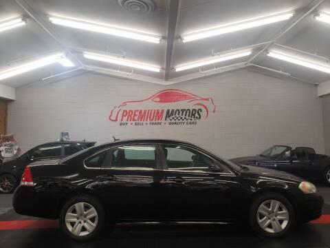 2010 Chevrolet Impala for sale at Premium Motors in Villa Park IL