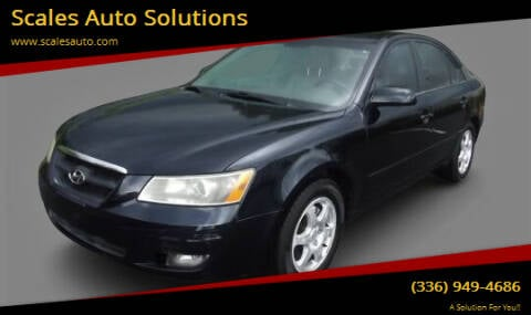 2006 Hyundai Sonata for sale at Scales Auto Solutions in Madison NC