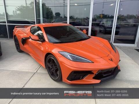 2021 Chevrolet Corvette for sale at Fishers Imports in Fishers IN