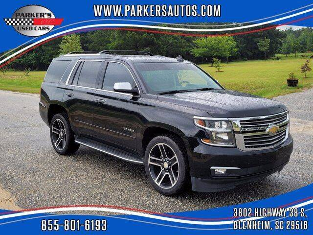 2015 Chevrolet Tahoe for sale at Parker's Used Cars in Blenheim SC