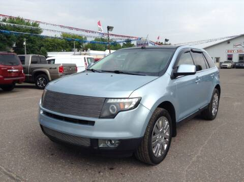 2008 Ford Edge for sale at Steves Auto Sales in Cambridge MN