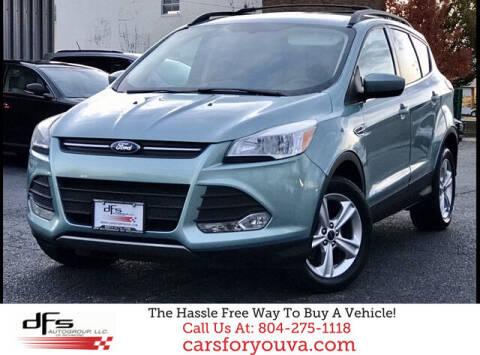 2013 Ford Escape for sale at DFS Auto Group of Richmond in Richmond VA