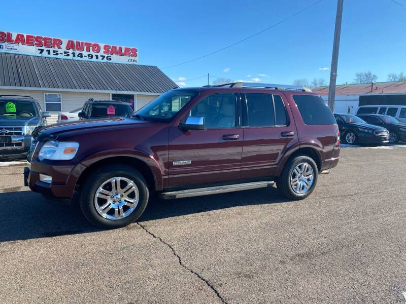 2008 Ford Explorer for sale at BLAESER AUTO LLC in Chippewa Falls WI